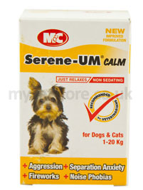 Serene Um Tablets for Cats & Dogs